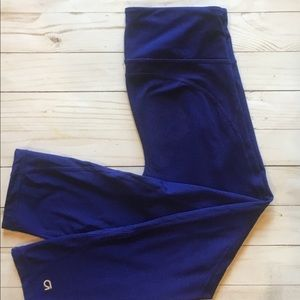 Gap Athletic Blue Cropped Leggings Size-Small